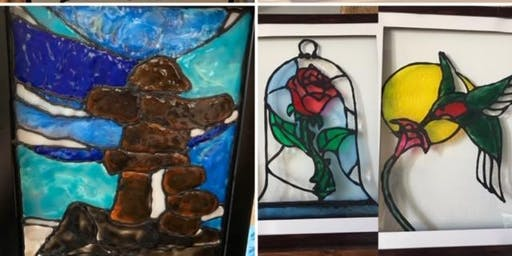 You Pick Faux Stained Glass @ Ranchers