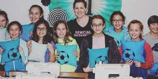 Parent/Sibling and Me Sewcial Sewing Party - Pillow Class