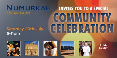 NUMURKAH SOLAR FARM COMMUNITY CELEBRATION tickets