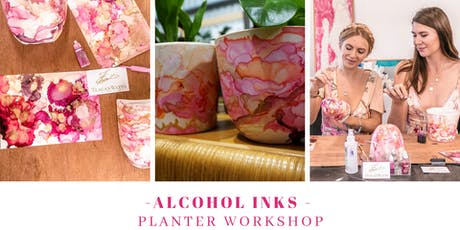 Alcohol Ink - Planter workshop tickets