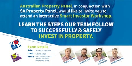 Adelaide | Learn the Steps to Successfully and Safely Invest in Property tickets