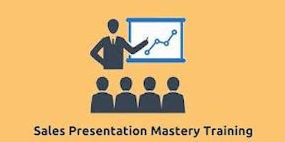Sales Presentation Mastery 2 Days Virtual Live Training in Kirkland, WA