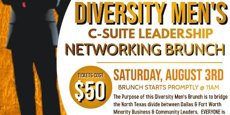 Diversity Men's C-Suite Leadership Networking Brunch tickets