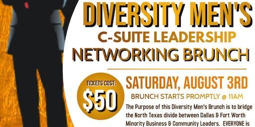 Diversity Men's C-Suite Leadership Networking Brunch