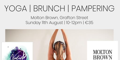 Yoga, Brunch & Pampering with Molton Brown and Julie B Yoga