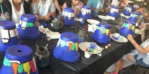 Pot Painting Class