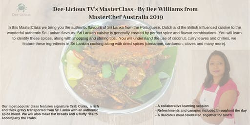 Join Dee Williams from MasterChef for an Interactive Cooking Demonstration