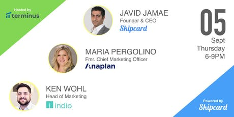 Skipcard, Anaplan and Indio growth leads talk about Event Marketing tickets