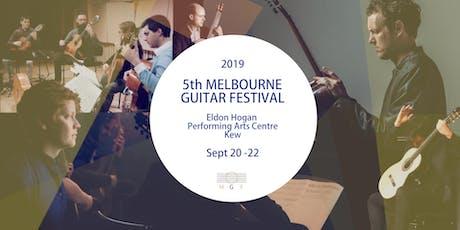 Festival Passes - Melbourne Guitar Festival 2019 tickets