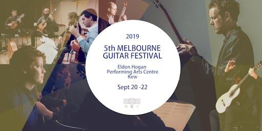 Festival Passes - Melbourne Guitar Festival 2019