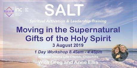 SALT (Spiritual Activation & Leadership Training) tickets