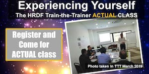 Experiencing the HRDF Train-the-Trainer - ACTUAL CLASS...