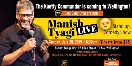 The Knotty Commander - Stand Up Comedy feat. Manish Tyagi tickets
