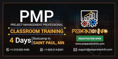 PMP Classroom Training & Certification Program in Saint Paul, Minnesota