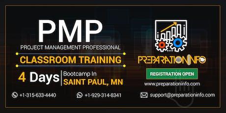 PMP Classroom Training & Certification Program in Saint Paul, Minnesota tickets