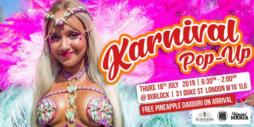Karnival Pop-Up with Plantation Rum
