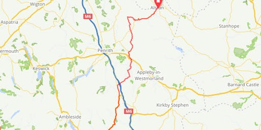 Cycle against Torture 2019 STAGE 12 Kendal to Alston
