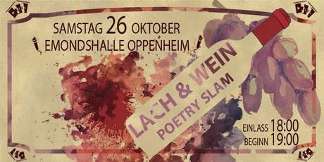 Lach & Wein Poetry Slam Tickets