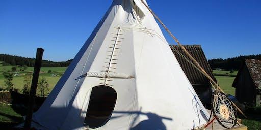 Lerne Deine Seele kennen - im Tipi Zelt auf der schwäbischen Alb (Obernheim bei Albstadt)