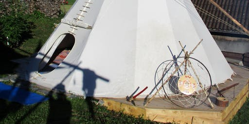 Fülle und Reichtum Workshop - im Tipi Zelt auf der schwäbischen Alb