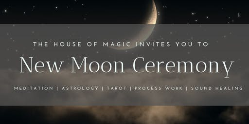 New Moon Ceremony: Magnetic Presence