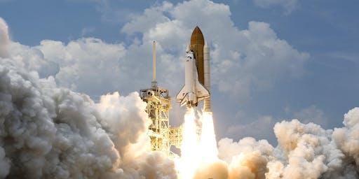 Children's Laser-cut Space Rocket Keyring Workshop (8-15yrs) - FabLab Exeter