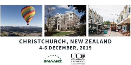SMAANZ 2019 Conference tickets