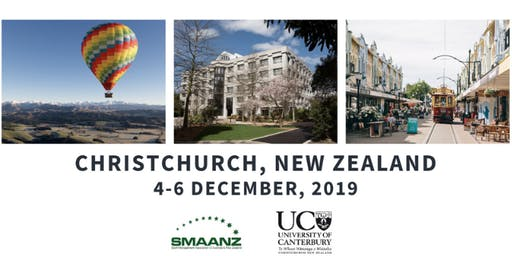 SMAANZ 2019 Conference