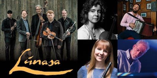 Brantry Fleadh 2019 Concert - Lúnasa - Bríd Harper, Darren Breslin, Órlaith McAuliffe & Brian McGrath