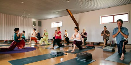 Mon 10am Yoga with Drum Salutes 10 Week Term tickets