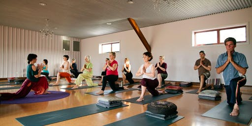 Mon 10am Yoga with Drum Salutes 10 Week Term