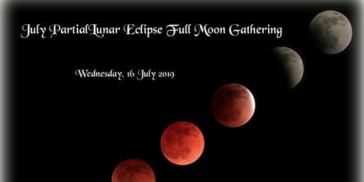 Partial Luna Eclipse Full Moon Gathering