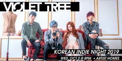 Korean Indie Night 2019: VIOLET TREE Brings Seoul's Indie Music to Berlin