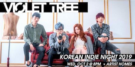 Korean Indie Night 2019: VIOLET TREE Brings Seoul's Indie Music to Berlin tickets