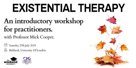 Existential Therapy tickets
