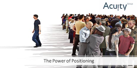 The Power of Positioning - The Key to Profitable Growth tickets