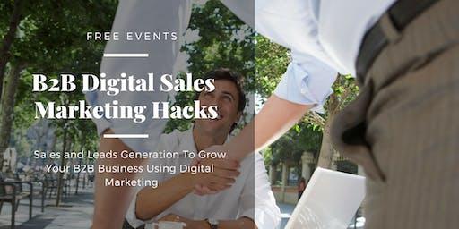B2B Digital Sales Marketing Hacks Batch #3