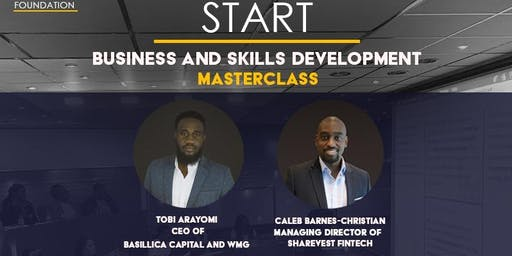 START: Business and Skills Development Masterclass (JULY): Investment Preparation & Public Speaking