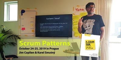 Scrum Patterns Training - Jim Coplien & Karel Smutný