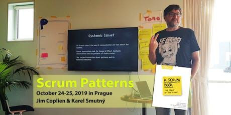 Scrum Patterns Training - Jim Coplien & Karel Smutný tickets