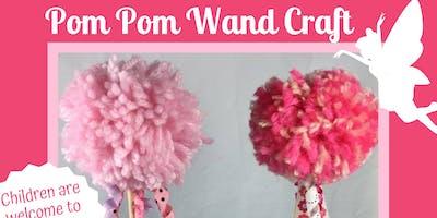 Pom Pom Wand Craft at Weber's Farm Session 1