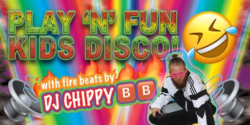 Play'n'Fun Kids Disco JULY - School Holiday Special!