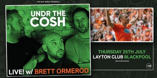 Undr The Cosh - Live! with Brett Omerod (Layton Club, Blackpool)