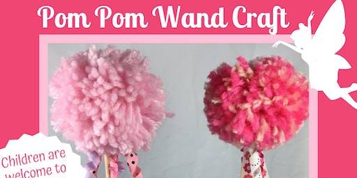Pom Pom Wand Craft at Weber's Farm Session 2