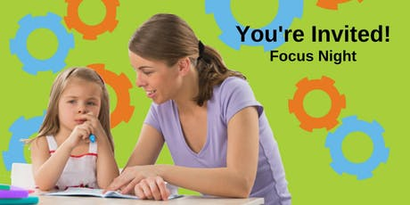 Focus Night: How to Help Your Child With Paying Attention tickets