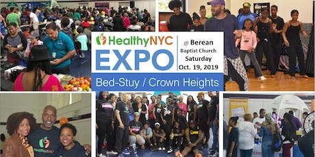 Healthy NYC Expo Series | Berean Baptist Church in Bed Stuy/ Crown Heights, Brooklyn tickets
