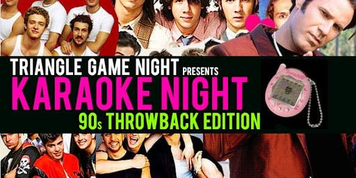 The Return of 90's Throwback Karaoke Night