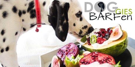 """DOGGIES Seminar: """"BARFen"""" für gesunde und kranke Hunde Tickets"""