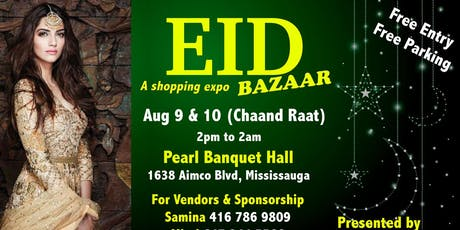Eid Bazaar August 2019 tickets