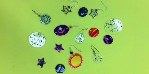 Shrinky Dink Earrings for Adults